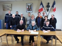 signature de la convention de participation citoyenne